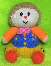 KNITTING PATTERN - Mr Tumble inspired orange cover / Something Special 14cms toy