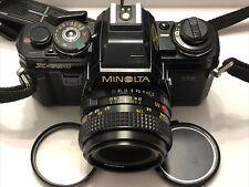 Minolta X-700 w/ Minolta 50mm f2 lens (#1144500) 90% condition