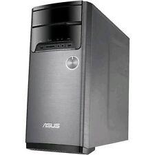 ASUS Desktop PC AMD A8 3.2GHz 4GB 1TB HDD Win 10 - Silver (M32BF-US002T)