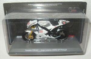JORGE LORENZO 2009 - YAMAHA YZR-M1 GP PORTUGAL 1/18 MOTO GP ALTAYA MODEL