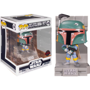 Star Wars - Boba Fett Metallic US Exclusive Pop! Deluxe Diorama [RS]
