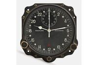 Cockpit Aircraft Clock Dial Breitling Wakmann Military Montre Bord Swiss Made
