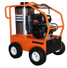 Hot Water Gas Pressure Washer 4000 Psi 35 Gpm Electric Start 14 Hp