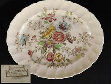 "Johnson Brothers Sheraton 11-3/4"" OVAL SERVING PLATTER, have more items to set"