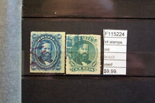 LOT STAMPS OLD BRAZIL USED (F115224)