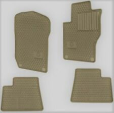 MERCEDES-BENZ W164 X164 ML GL CLASS GENUINE ALL SEASON RUBBER FLOOR MAT BEIGE