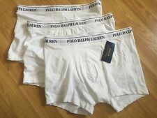Polo Ralph Lauren 3-Pack Pouch Boxer Shorts/Blanco-XL X-Large RRP £ 45