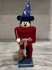 "Disney Parks Mickey Mouse Sorcerer's Apprentice Magician Nutcracker Fantasia 14"""