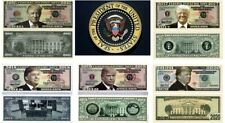 Donald Trump - First Four Years Collection 5 Set Novelty Money