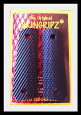 """1911 Grips - """"RANGER"""" Full Size Colt Kimber - (Black) -Original SkinGripz !"""