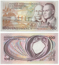 LUXEMBURG - LUXEMBOURG  100 Francs 1981 UNC   P14A
