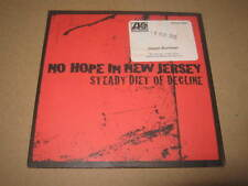"""NO HOPE IN NEW JERSEY """" STEADY DIET OF DECLINE """" CD ALBUM PROMO EXCELLENT"""