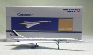 1:400 Socatec AIR FRANCE Concorde Passenger Aircraft Diecast Airplane Model
