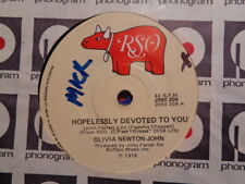 "Olivia Newton-John ""Hopelessly Devoted To You"" 1978 RSO Oz 7"" 45rpm"