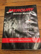 90-895072 Mercury Mercruiser SmartCraft DTS 14 Pin Service Manual