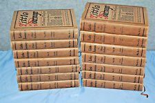 Elbert Hubbard 1928 Little Journey's The House of the Great 14 Volumes  M3724