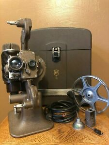 "Vintage Bell & Howell 16MM Filmo ""Diplomat"" Silent Projector Design 57 - Model X"