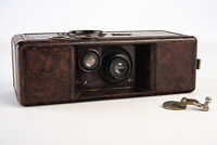 Vintage QRS Kamra De Vry Model K-1 Bakelite 35mm Camera for PARTS REPAIR V11