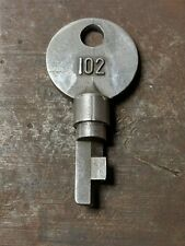 Sargent & Greenleaf 102 High Security Environmental Padlock Key S&G Key # 102