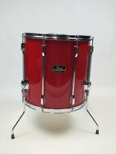 "Pearl Export 16"" x 16"" Floor Tom in Ferrari Red"
