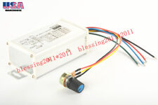 1 x 9-60V Max 20A PWM DC Motor Stepless Variable Speed Controller Switch