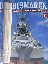 Bismarck/Ausgabe 11/Hachette/Die Geschichte und  Modell Bauen
