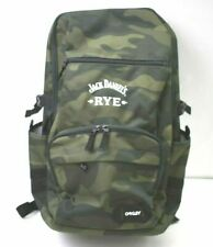 New Oakley Jack Daniels Rye Branded Camo Crestible Street Pocket Backpack $85