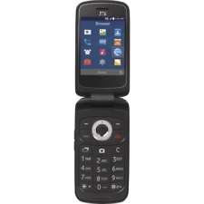 Total Wireless ZTE Z233VL 4GB Prepaid Flip Phone Black