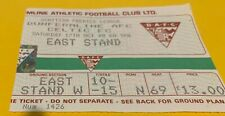 More details for celtic f.c - match tickets - away - league - dunfermline athletic - 17-10-1998