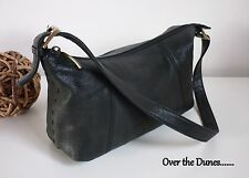 COLORADO BAG BLACK LEATHER SHOULDER LADIES HANDBAG