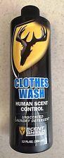 1250 Scent Shield Clothes Wash Human Scent Control Laundry Detergent 12 fl oz
