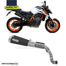 KTM 890 DUKE R 2020 No Kat 2 Scarico ARROW PRO-RACE Nichrom Nero RC