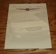 Original 1998 Chrysler Town & Country Foldout Sales Brochure 98