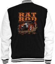Rockabilly Sweat College Rat Rod Engine V8 Tattoo Motor US Car Hot Rod Pinup