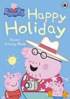 Peppa Pig: Happy Holiday Sticker Activity Book by , NEW Book, FREE & Fast Delive