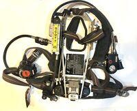 Scott 4.5 SCBA Harness with Air-Pak Plus & E-Z Flo Regulator & Air Supply Gauge