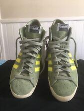 reputable site bfe19 c7266 Adidas Basket Profi Zapatos Salvia Verde   Eléctrico Amarillo Tamaño 8.5  Buen