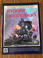 MOUNT GUNDABAD 1989 Complete w/map! MERP Middle Earth RPG Rolemaster Iron Crown