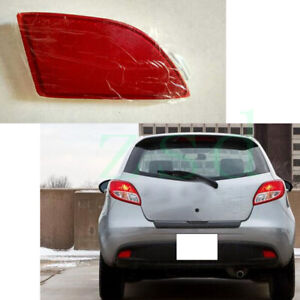 1x For Mazda 2 2007-16 Rear Bumper Right Passenger Side Tail Fog Light Reflector