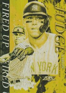 2021 Topps Fire Baseball GOLD MINTED Inserts ~ Pick your card