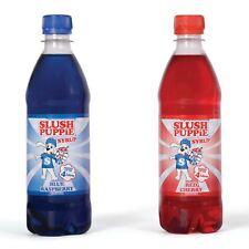 Official Slush Puppie Frozen Blue Raspberry & Cherry Ice Slushie Syrup 500ml