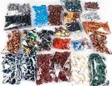 New LEGO Minifigure Torso & Headgear Lot (2lbs)