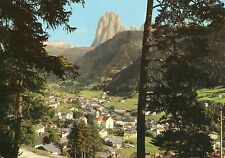 Alte Postkarte - Dolomiten - Gröden: St. Ulrich gegen Langkofel