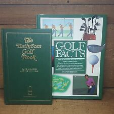 GOLF FACTS~IAN MORRISON~~THE BATHROOM GOLF BOOK~GREAT BOOKS FOR THE GOLFER