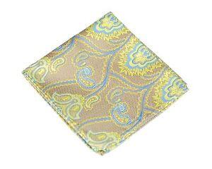 Lord R Colton Masterworks Pocket Square - Trindade Sun Silk - $75 Retail New