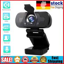 HD 1080P Webcam Kamera USB 2.0 3.0 mit Mikrofon für PC Laptop Computer Notebook