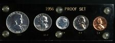 1956 Silver United States Mint Proof Coin Set - In Capitol Holder