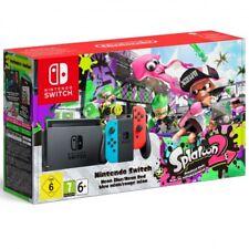 Consola Nintendo switch azul rojo Splatoon2