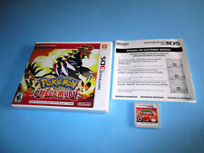 Pokemon Omega Ruby (Nintendo 3DS) XL 2DS Game w/Case & Insert