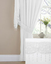 Art Deco Style Solid Pattern Curtains & Pelmets
